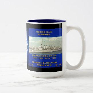 USS Williamson (DD-244) Coffee Mugs