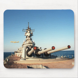 USS Wisconsin (BB-64) Mouse Pad