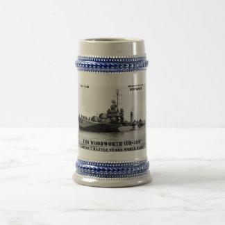 USS Woodworth (DD-460) Mugs