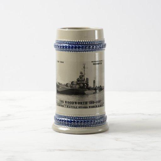 USS Woodworth (DD-460) Tasses À Café