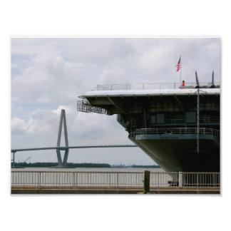 USS Yortktown Photo Print