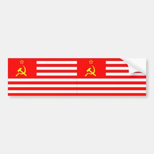 USSA Flag (2) Bumper Sticker
