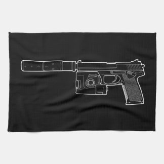 USSOCOM MARK 23 Black Kitchen Towel