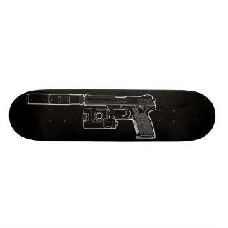 USSOCOM MARK 23 Black Skateboard