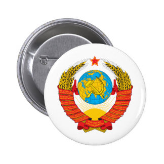 USSR 2 INCH ROUND BUTTON