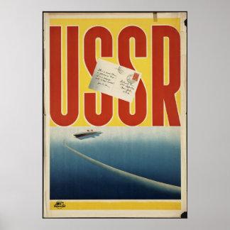 USSR CCCP Vintage Travel Poster Ad Retro Prints