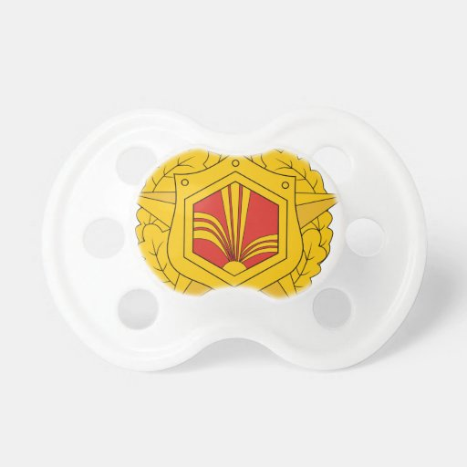 USSR Chemical Troops, insignia (1970) Baby Pacifiers