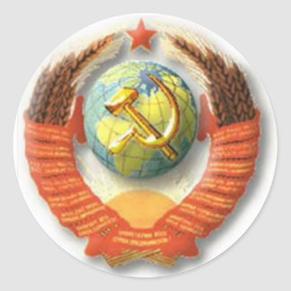 USSR Emblem Stickers