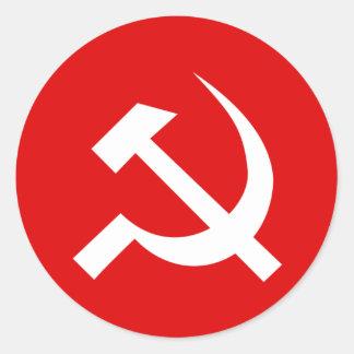USSR Flag Classic Round Sticker