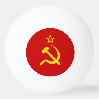 USSR flag Ping Pong Ball