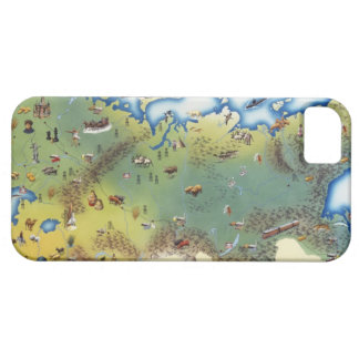 USSR, map of Union of Soviet Socialist iPhone 5 Cases