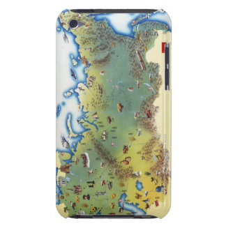 USSR, map of Union of Soviet Socialist iPod Touch Case