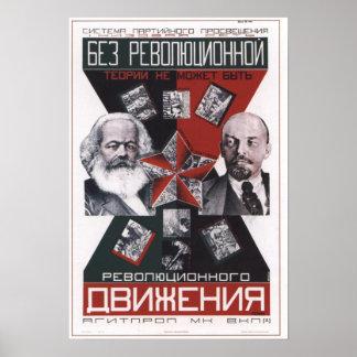 USSR Soviet Union Propaganda 1927 Poster