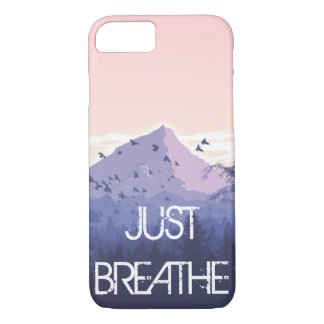 ust Breathe Mountain Design iPhone 8/7 Case