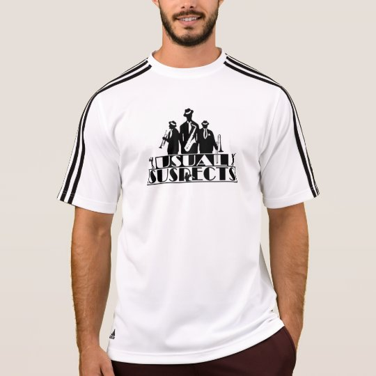 Usual Suspects Band Adidas Climalite T-Shirt