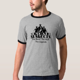 Usual Suspects Band Men's Ringer T-Shirt