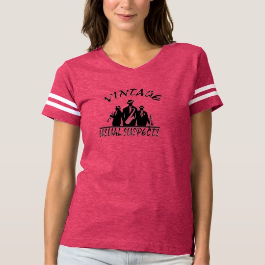 Usual Suspects Band Women's Vintage T-Shirt