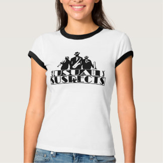 Usual Suspects Fan Ringer T-Shirt