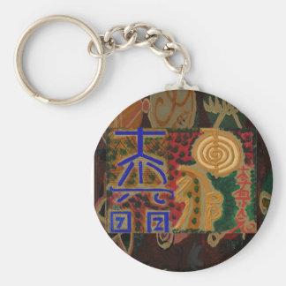 USUI REIKI symbols Basic Round Button Keychain
