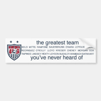 USWNT 2011 bumper sticker