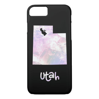 UT Utah State Iridescent Opalescent Pearly iPhone 8/7 Case