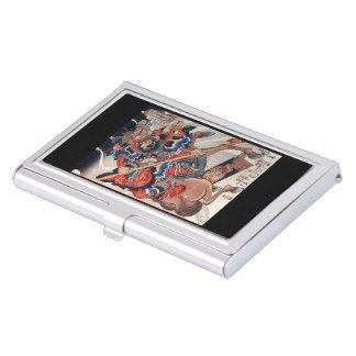 Utagawa country 芳 'eight 臂 那 sections it is business card holder