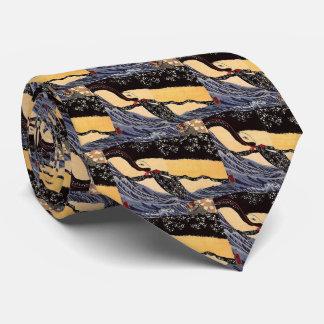 Utagawa country 芳 'Miyamoto Musashi whale Tie