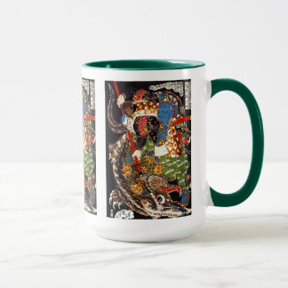 Utagawa country 芳 'mountain shark suppression of mug