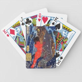 Utagawa country 芳 'Sakata robust child circle', Poker Deck