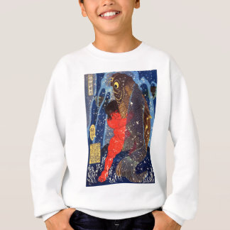 Utagawa country 芳 'Sakata robust child circle', Sweatshirt
