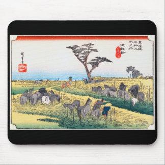 UTAGAWA Hiroshige and Chirifu Mouse Pad