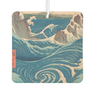 Utagawa Hiroshige Naruto Whirlpool Car Air Freshener