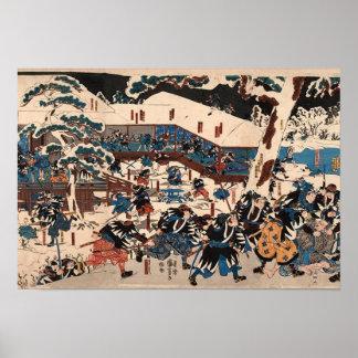 Utagawa Kuniyoshi 47 RONIN Poster