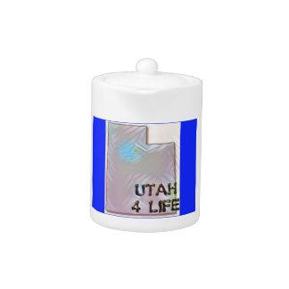 """""""Utah 4 Life"""" State Map Pride Design"""