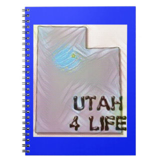 """Utah 4 Life"" State Map Pride Design Notebooks"