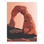 Utah Arch Post Card