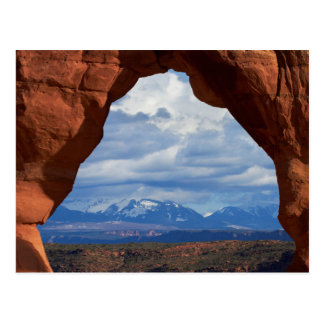 Utah, Arches National Park, Delicate Arch Postcard