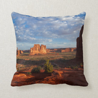 Utah, Arches National Park, rock formations 1 Throw Pillow