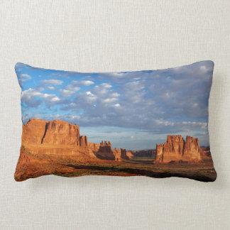 Utah, Arches National Park, rock formations 2 Lumbar Pillow