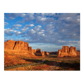 Utah, Arches National Park, rock formations 2 Postcard