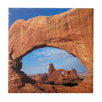 Utah, Arches National Park, Turret Arch 2 Tile