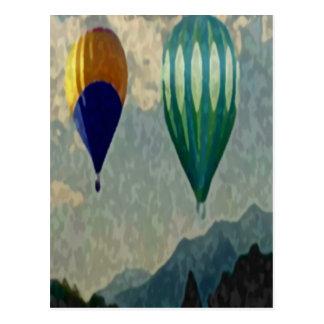Utah Balloons Postcard