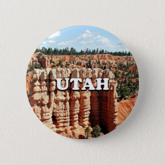 Utah: Bryce Canyon National Park 2 Inch Round Button