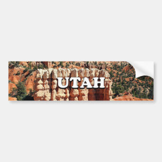 Utah: Bryce Canyon National Park Bumper Sticker