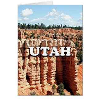 Utah: Bryce Canyon National Park Card