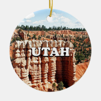 Utah: Bryce Canyon National Park Ceramic Ornament