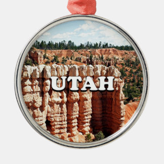 Utah: Bryce Canyon National Park Metal Ornament