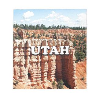 Utah: Bryce Canyon National Park Notepad