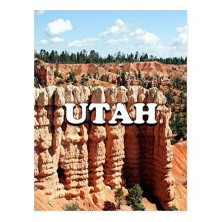 Utah: Bryce Canyon National Park Postcard