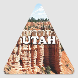 Utah: Bryce Canyon National Park Triangle Sticker